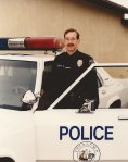 Traffic Officer Gerry Goldshine aka T-36  Petaluma Police Department mid-1980's