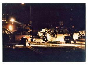 Traffic collision 5/26/86 in Petaluma, CA involving Gerry Goldshine