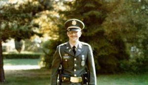 Gerry Goldshine in dress uniform