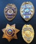 Petaluma Police badges