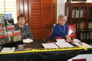 Marilyn Meredith on left