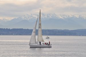 sailboat on puget sound
