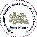 PSWA Writing contest award