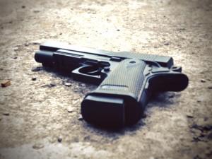 gun-on-ground