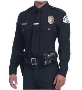 LAPD class a uniform